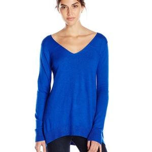 Splendid Cashmere Blend BlueTunic Sweater Small